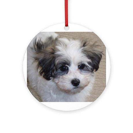Ornament (Round): Puppy Love