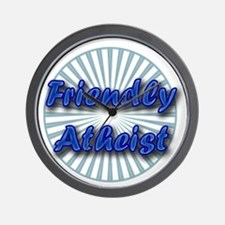 Friendly Atheist Wall Clock