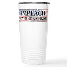Impeach Christie Travel Mug