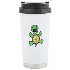 Happy Turtle Stainless Steel Travel Mug