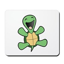 Happy Turtle Mousepad