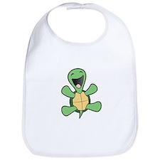Happy Turtle Bib