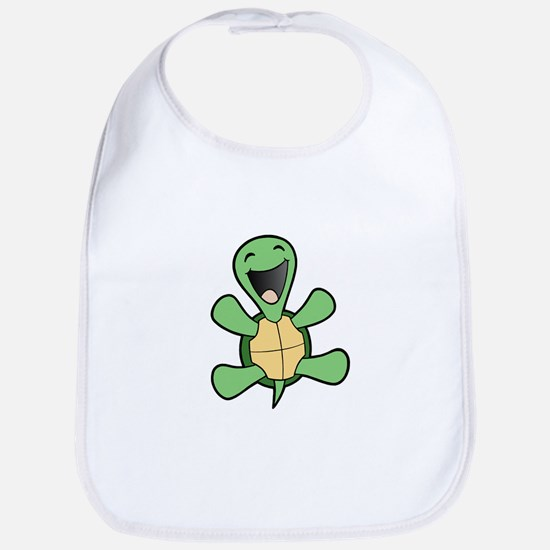Happy Turtle Bib