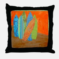 Funny Surf wear Throw Pillow