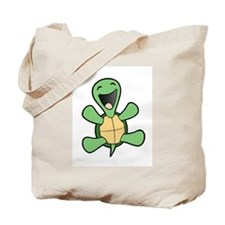 Happy Turtle Tote Bag
