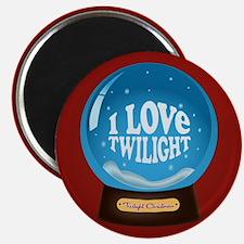 Twilight Snow Globe Magnet