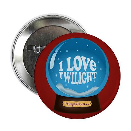 "Twilight Snow Globe 2.25"" Button"
