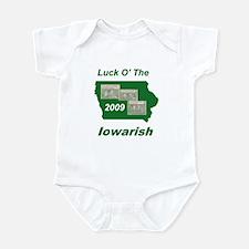 Luck O' the Iowarish Infant Bodysuit