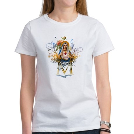 Immaculate Heart of Mary Women's T-Shirt