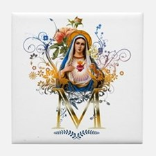 Immaculate Heart of Mary Tile Coaster