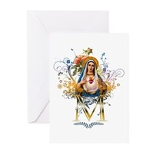 Immaculate Heart of Mary Greeting Cards (Pk of 20)