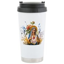 Immaculate Heart of Mary Thermos Mug
