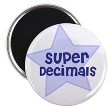 Super Decimals Magnet
