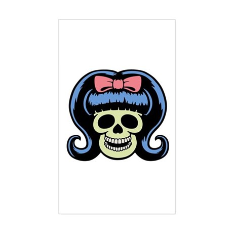 Betty Booty Rectangle Sticker