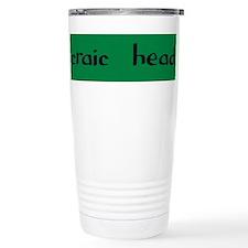 craic head Travel Mug