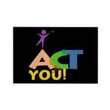 Act for You Rectangle Magnet (100 pack)