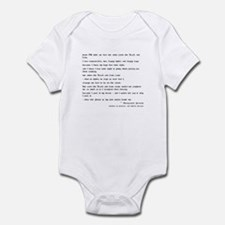 Margaret Pearse Quote Infant Bodysuit