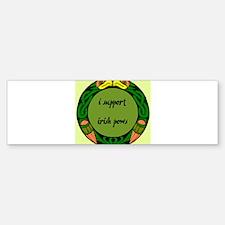 SUPPORT IRISH POWs Bumper Bumper Bumper Sticker