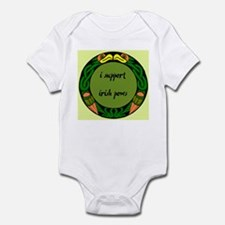 SUPPORT IRISH POWs Infant Bodysuit
