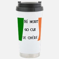 Ní neart go cur le chéile! Travel Mug