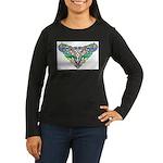 Celtic Artwork Women's Long Sleeve Dark T-Shirt