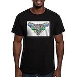 Celtic Artwork Men's Fitted T-Shirt (dark)