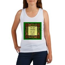 A country with out its langua Women's Tank Top