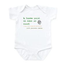 Talk prevents suicide Infant Bodysuit