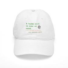 Talk prevents suicide Baseball Cap
