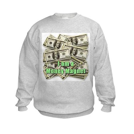 Money Magnet Kids Sweatshirt