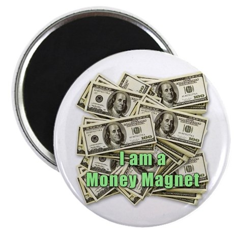 "Money Magnet 2.25"" Magnet (100 pack)"