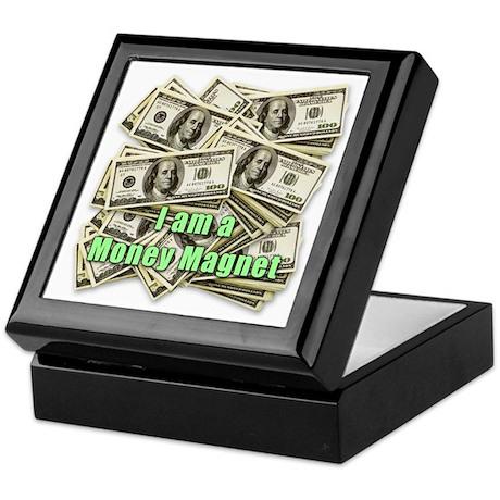 Money Magnet Keepsake Box