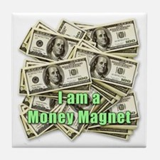 Money Magnet Tile Coaster