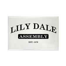 Lily Dale Assembly Rectangle Magnet
