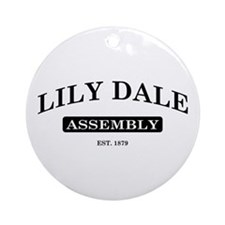 Lily Dale Assembly Ornament (Round)