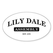 Lily Dale Assembly Oval Decal