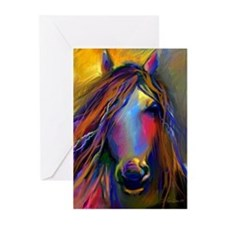 Mustang horse  Greeting Cards (Pk of 10)