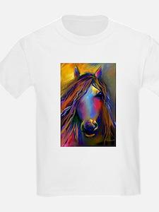Mustang horse Kids T-Shirt