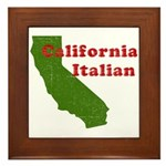 California Italian Framed Tile