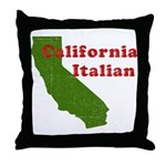California Italian Throw Pillow