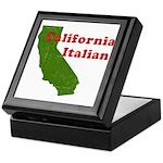 California Italian Keepsake Box