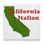 California Italian Tile Coaster