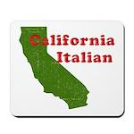 California Italian Mousepad