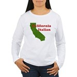 California Italian Women's Long Sleeve T-Shirt