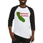 California Italian Baseball Jersey