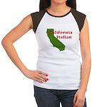California Italian Women's Cap Sleeve T-Shirt