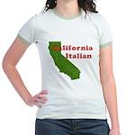 California Italian Jr. Ringer T-Shirt