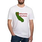 California Italian Fitted T-Shirt