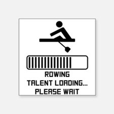 Rowing Talent Loading Sticker