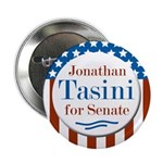 Jonathan Tasini for Senate campaign button